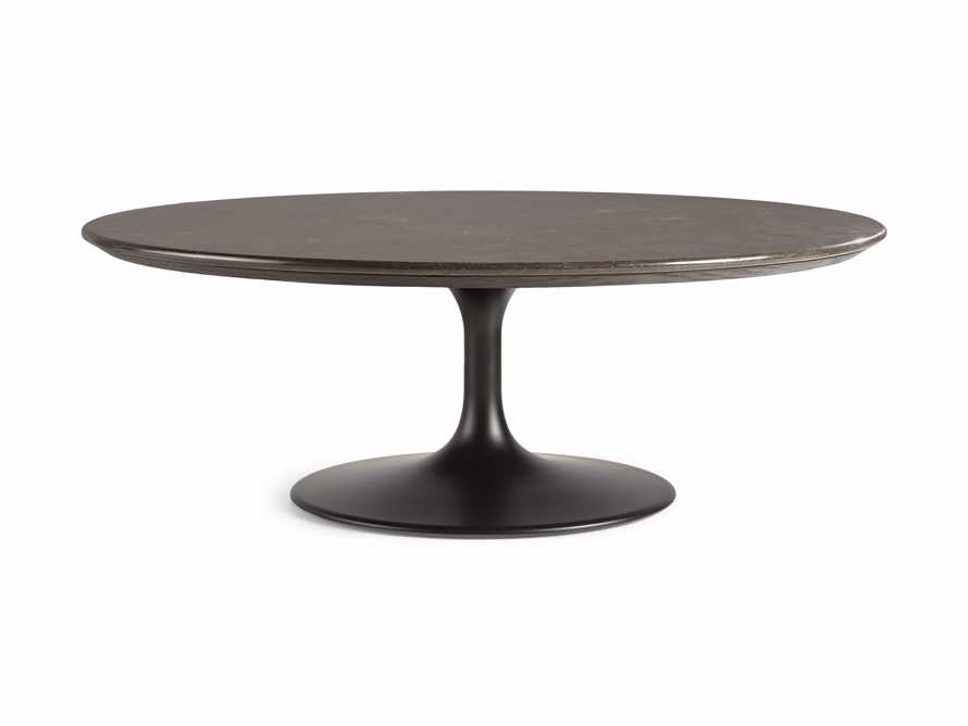 "Enzo 48"" Round Bluestone Coffee Table, slide 5 of 6"