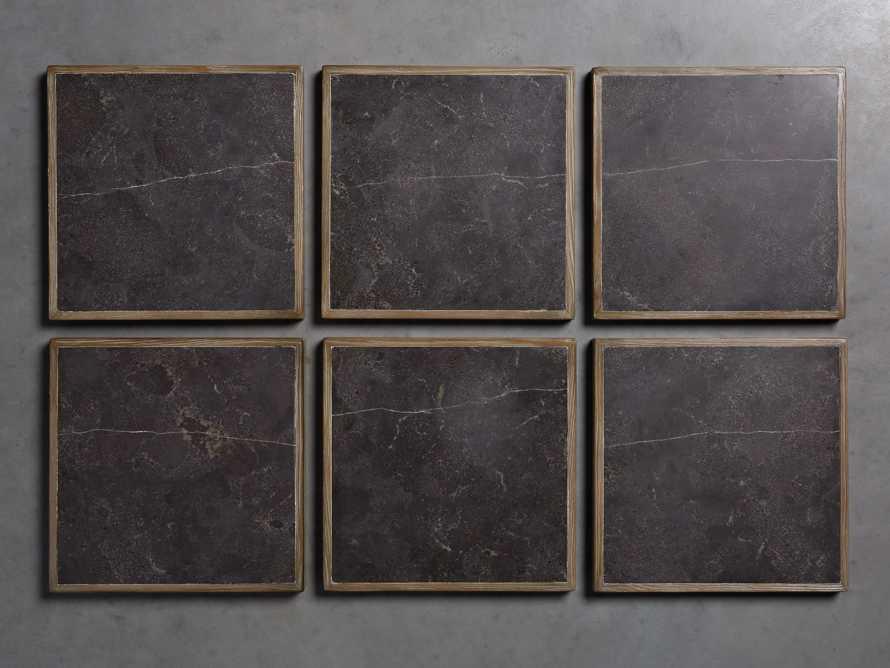 "Enzo 48"" Round Bluestone Coffee Table"