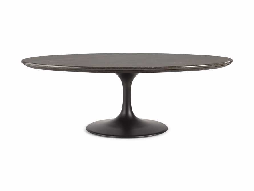 "Enzo 51"" Oval Bluestone Coffee Table, slide 5 of 6"