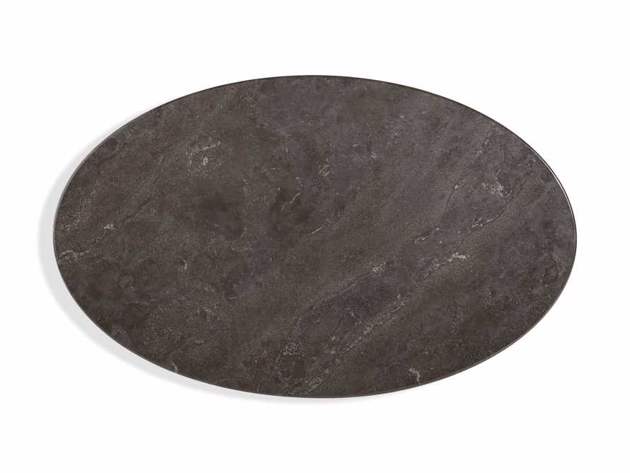 "Enzo 51"" Oval Bluestone Coffee Table, slide 4 of 6"