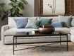 """Flores 54"""" Chocolate Copper Coffee Table"""