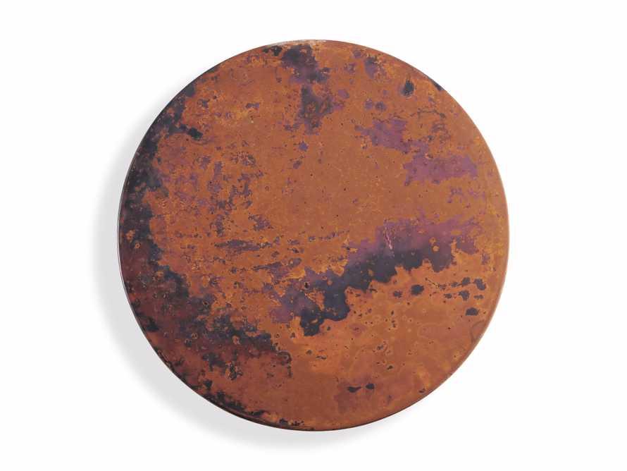 """Flores 12"""" Copper Martini Table"""