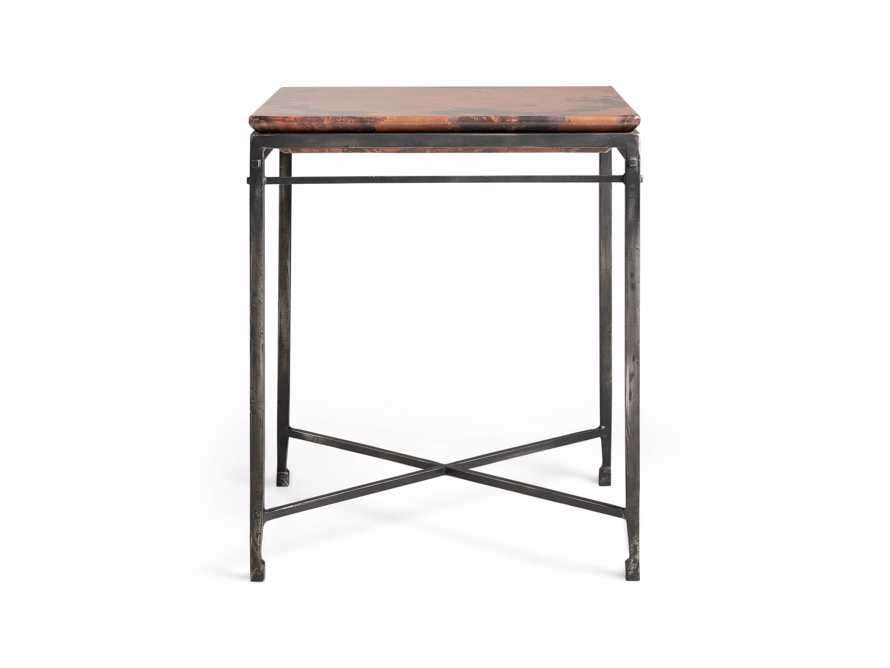 "Flores 20"" Copper End Table, slide 7 of 8"