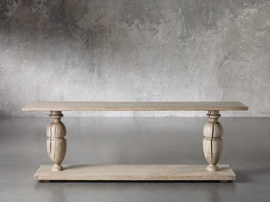 """Gilmour 86"""" Console Table, slide 1 of 5"""