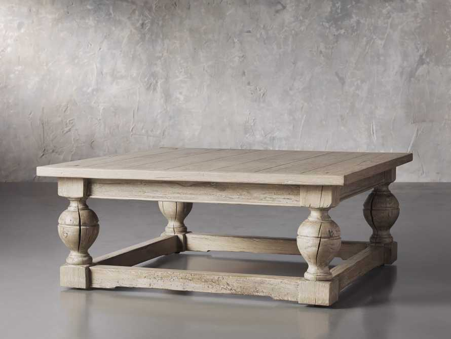 """Gilmour 44"""" Square Coffee Table, slide 2 of 5"""