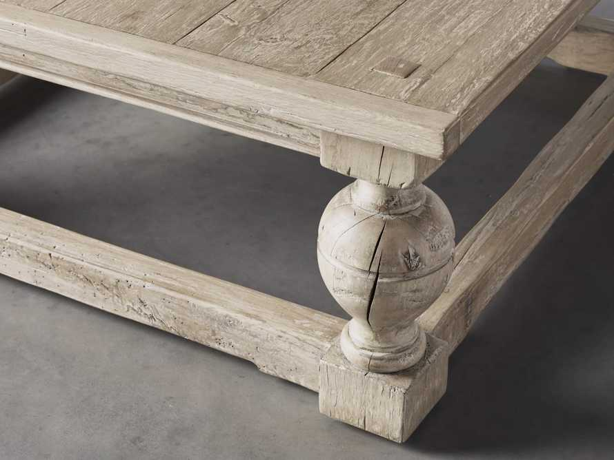 """Gilmour 44"""" Square Coffee Table, slide 3 of 5"""