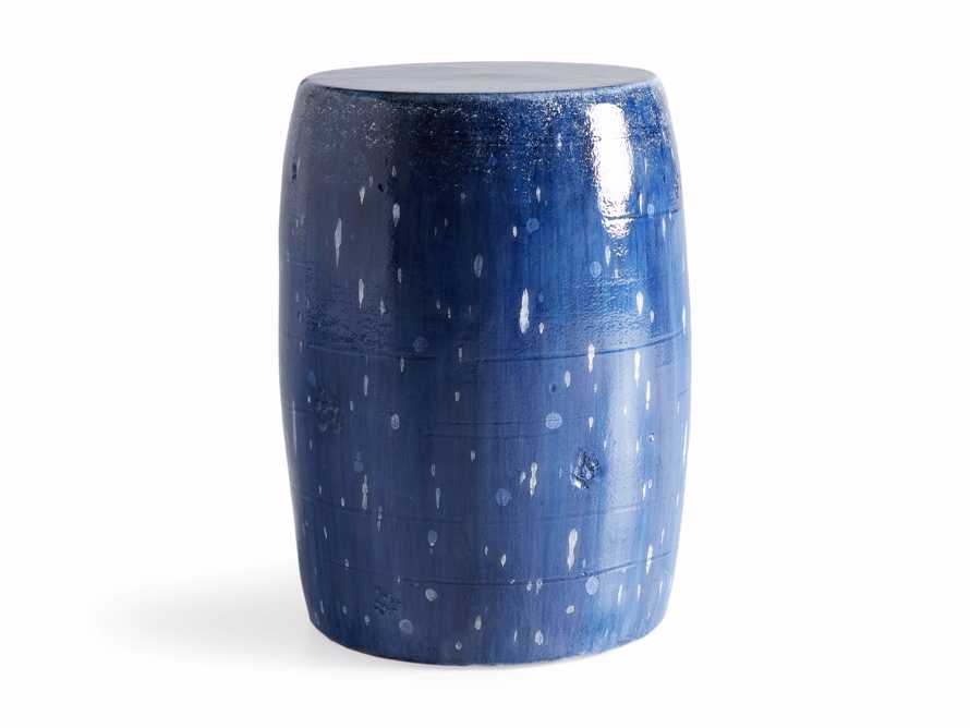 Garden Stool in Cerulean Blue, slide 4 of 4