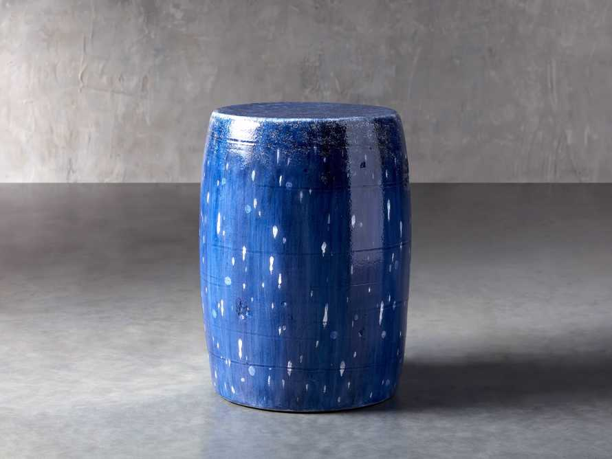 Garden Stool in Cerulean Blue, slide 2 of 4