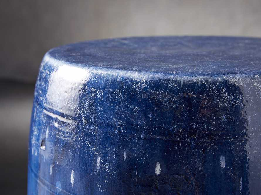 Garden Stool in Cerulean Blue, slide 3 of 4