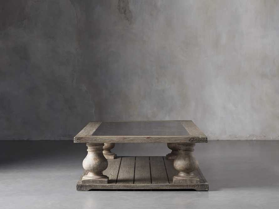 """Hudson 71"""" Coffee Table With Bluestone Top, slide 3 of 9"""