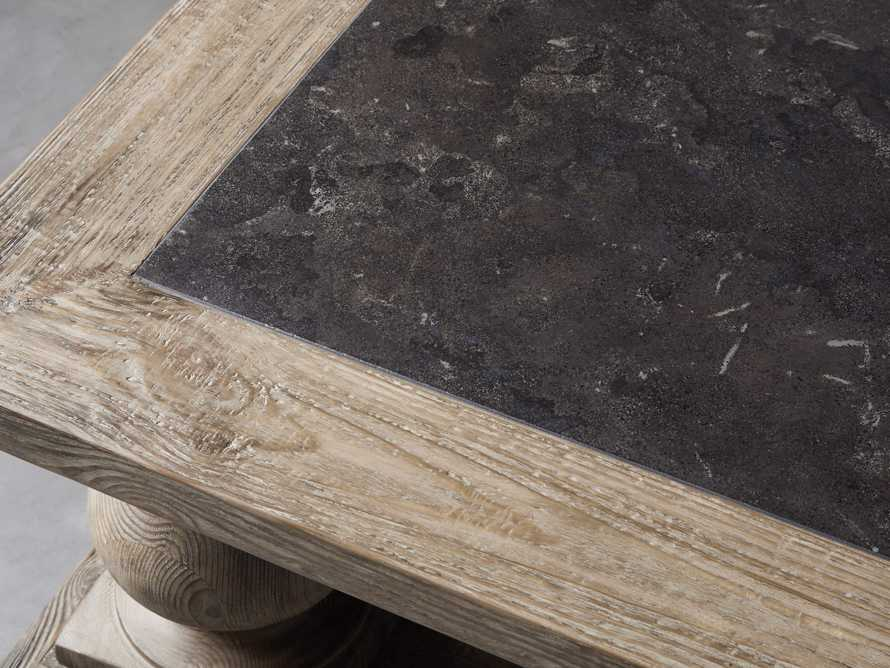 """Hudson 71"""" Coffee Table With Bluestone Top, slide 5 of 9"""