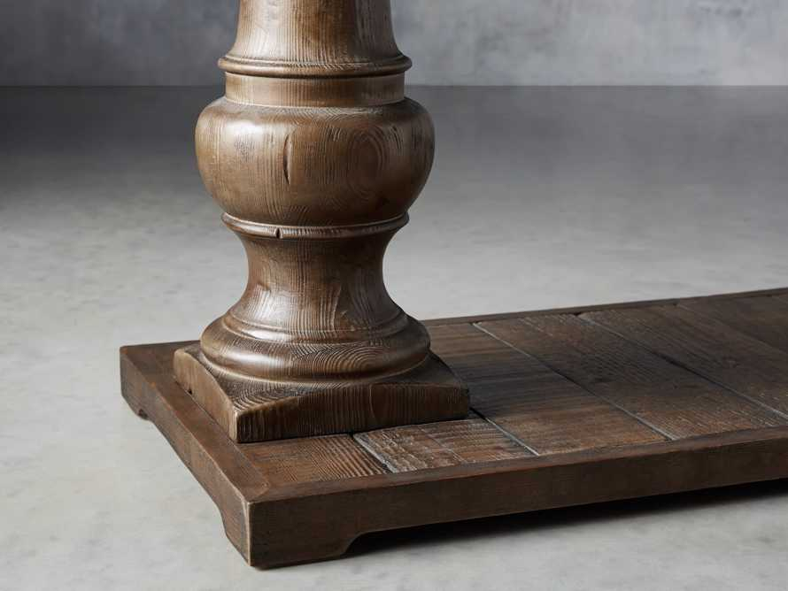"""Hudson 71"""" Console Table with Bluestone Top, slide 4 of 7"""