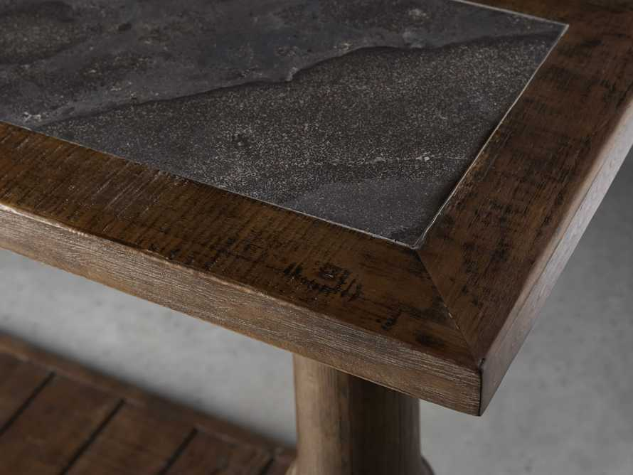 """Hudson 71"""" Console Table with Bluestone Top, slide 5 of 7"""