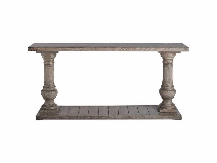 "Hudson 71"" Console Table with Bluestone Top, slide 6 of 8"