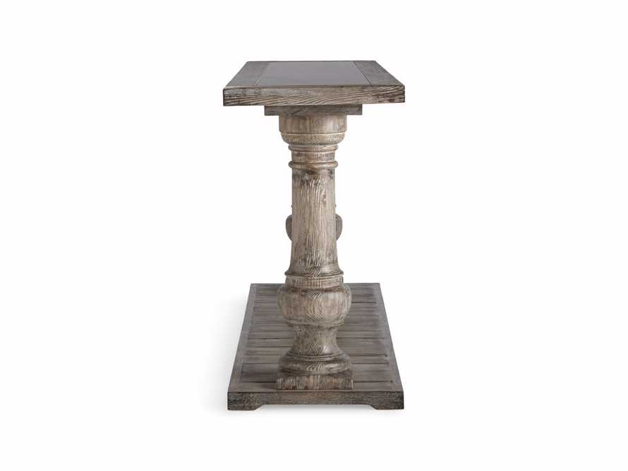 "Hudson 71"" Console Table with Bluestone Top, slide 7 of 8"