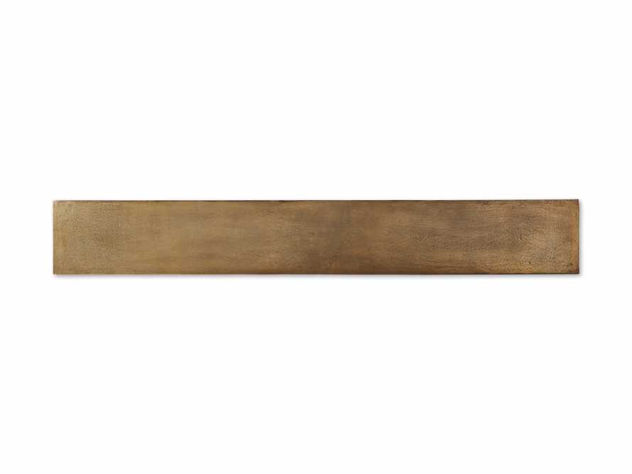 """Kavali 70"""" Console Table in Brass, slide 7 of 7"""
