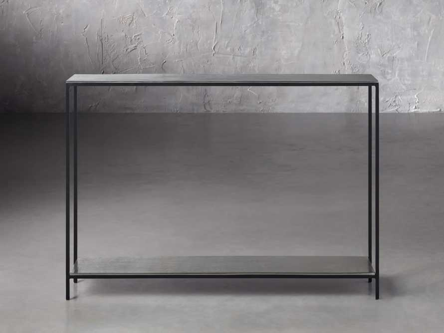 """Kavali 42"""" Console Table in Silver, slide 1 of 3"""