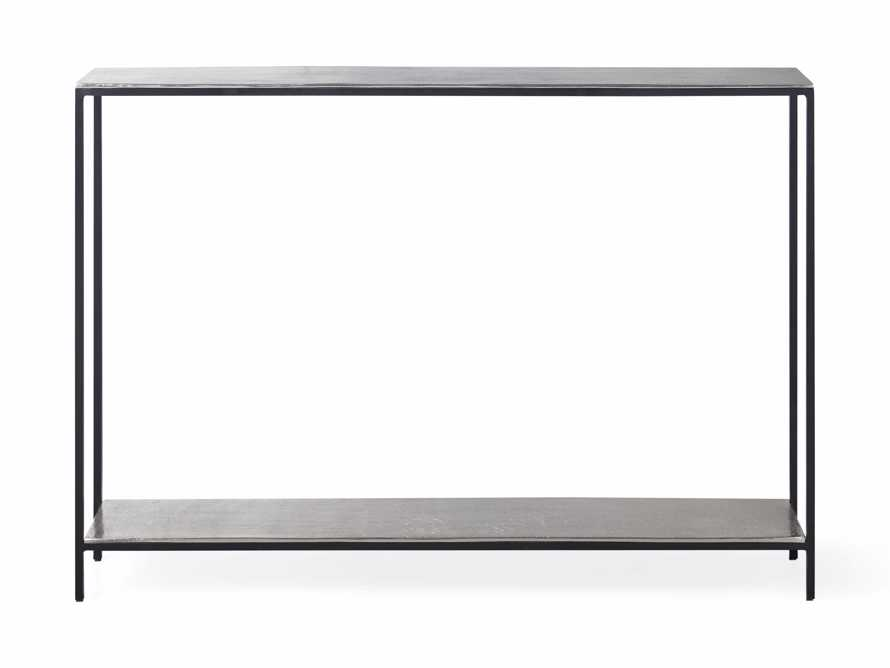 """Kavali 42"""" Console Table in Silver, slide 3 of 3"""