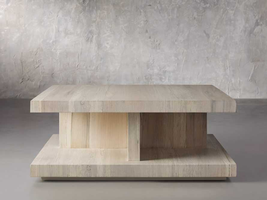 """Leandro 42"""" Square Coffee Table, slide 1 of 4"""