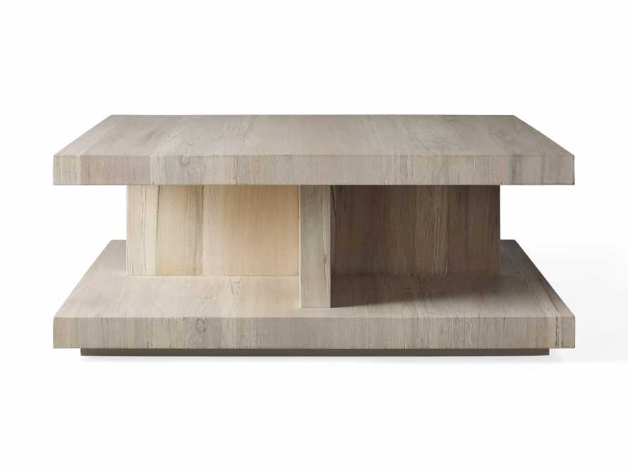 """Leandro 42"""" Square Coffee Table, slide 4 of 4"""