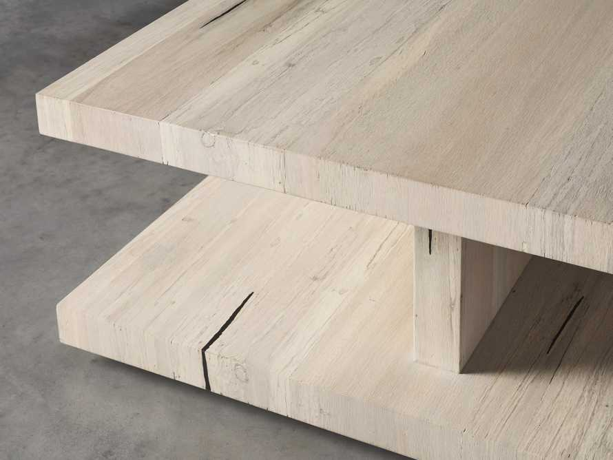 """Leandro 42"""" Square Coffee Table, slide 3 of 4"""