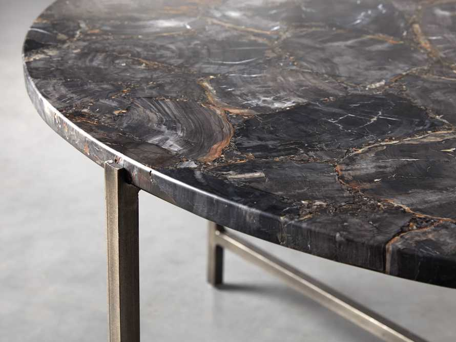 "Ludlow 36"" Petrified Wood Coffee Table, slide 3 of 6"
