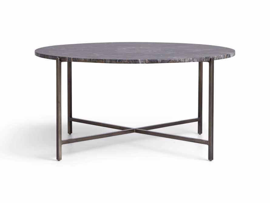"Ludlow 36"" Petrified Wood Coffee Table"