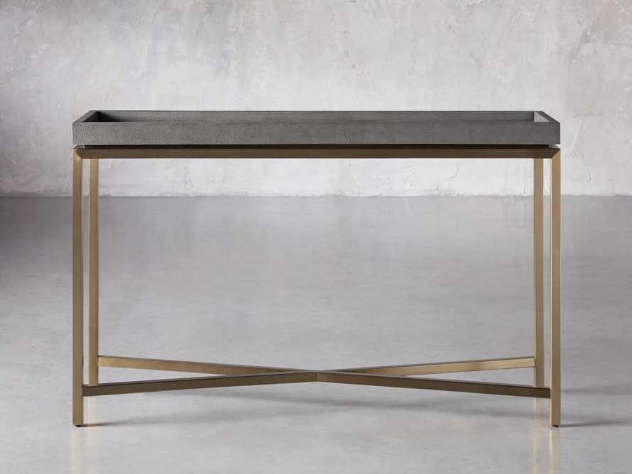"Malone 48"" Console Table in Dark Walnut, slide 1 of 7"