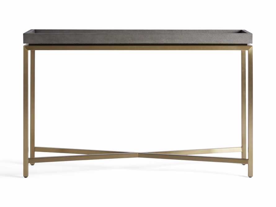 "Malone 48"" Console Table in Dark Walnut, slide 6 of 7"