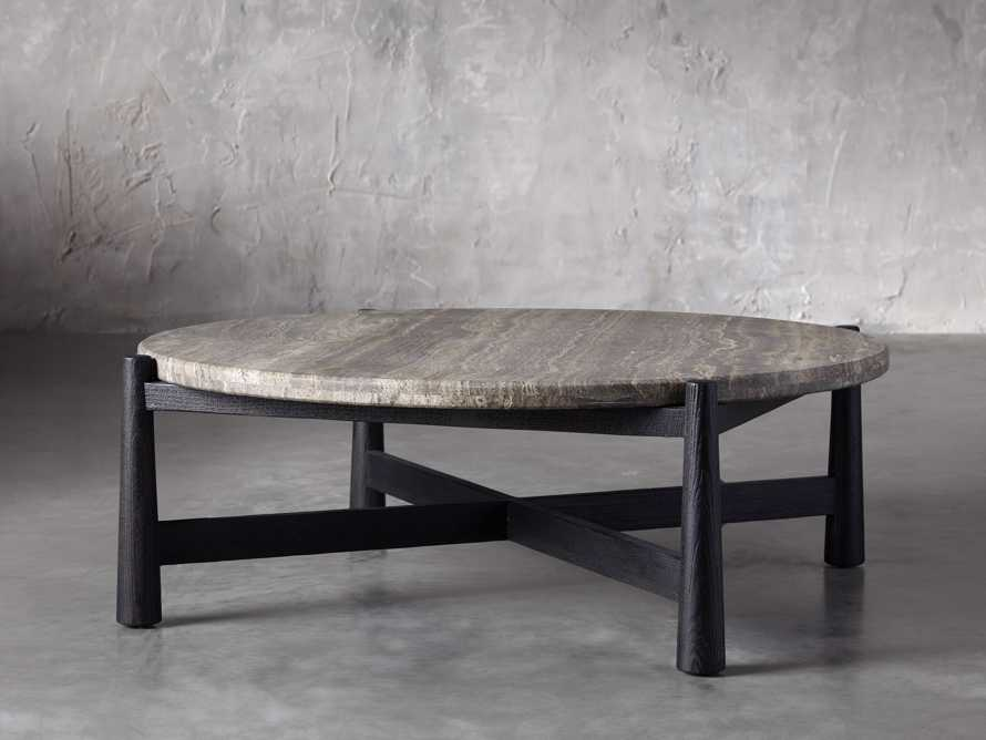 """Maurice 48"""" Round Coffee Table, slide 2 of 5"""