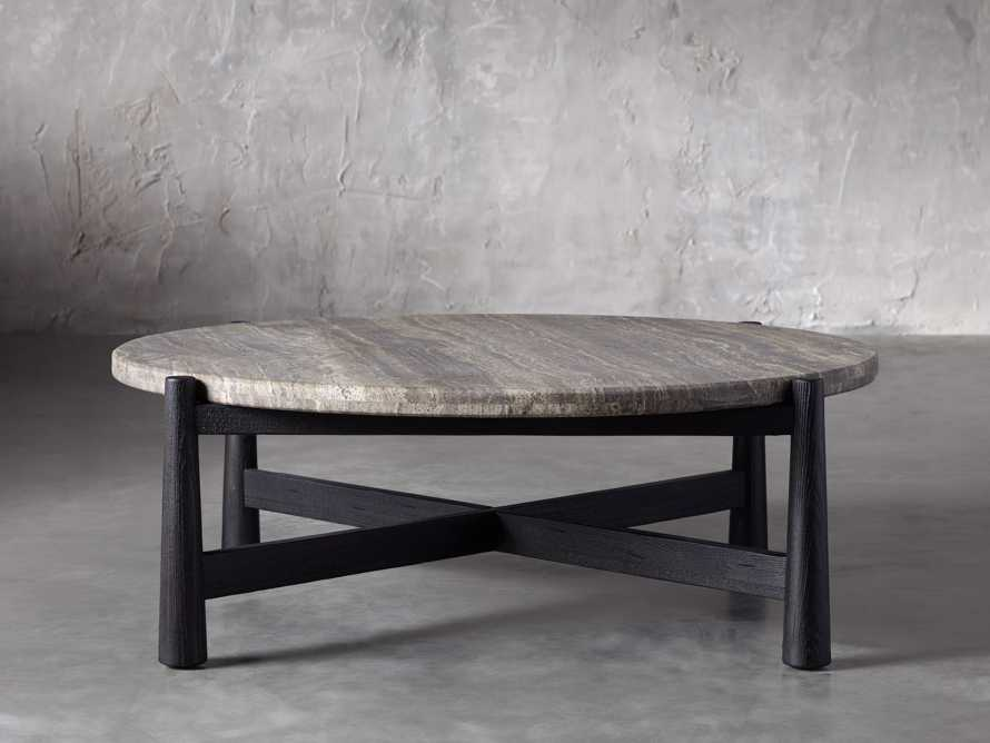 """Maurice 48"""" Round Coffee Table, slide 1 of 5"""