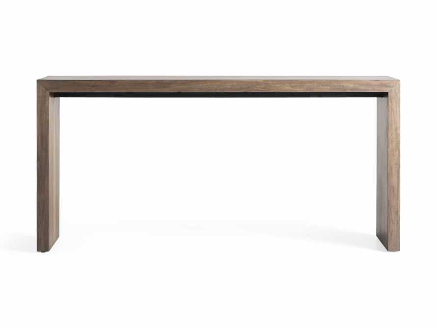 "Nika 63"" Console Table, slide 6 of 7"