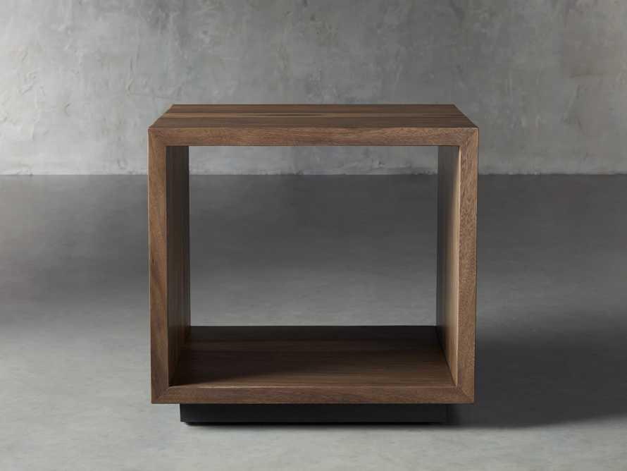 "Nika 24"" Cube End Table, slide 1 of 9"