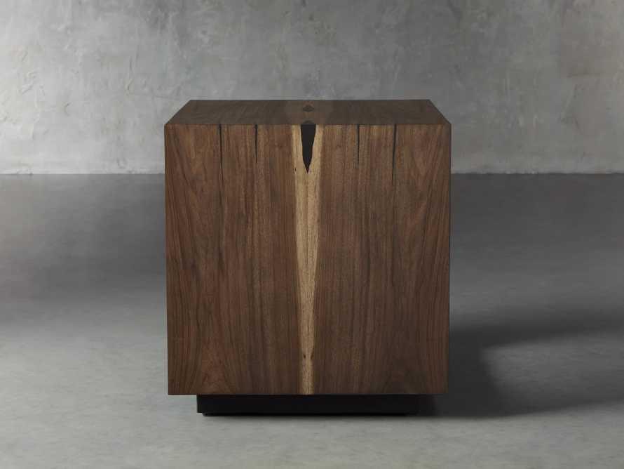"Nika 24"" Cube End Table, slide 3 of 9"