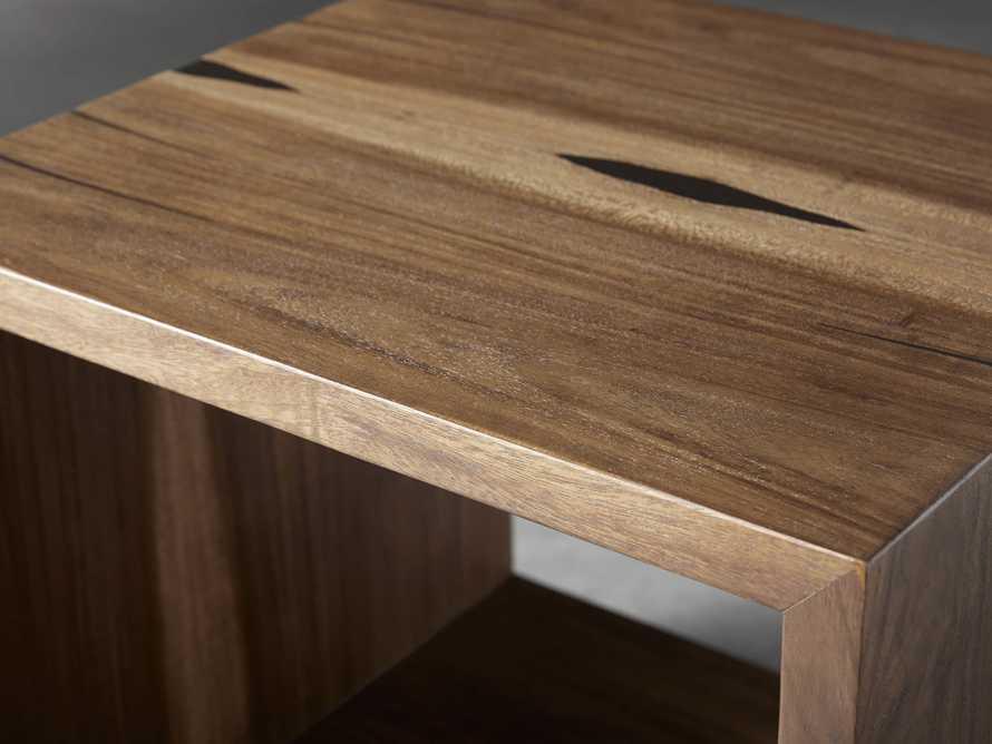 "Nika 24"" Cube End Table, slide 4 of 9"