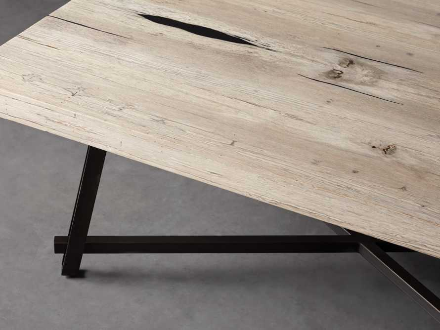 "Nika 50"" Spalted Oak Coffee Table"
