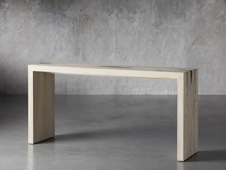 """Nika 63"""" Spalted Oak Console Table, slide 2 of 8"""