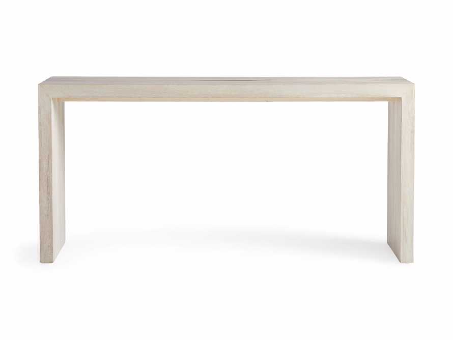 """Nika 63"""" Spalted Oak Console Table, slide 7 of 8"""