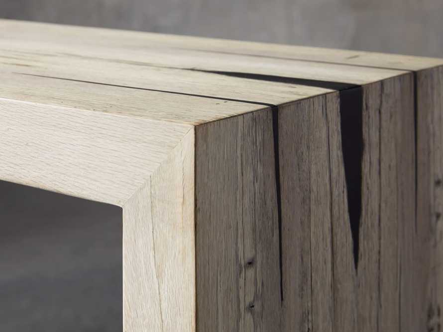 "Nika 63"" Spalted Oak Console Table"