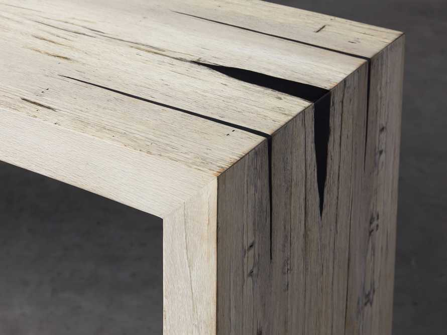"""Nika 63"""" Spalted Oak Console Table, slide 4 of 8"""