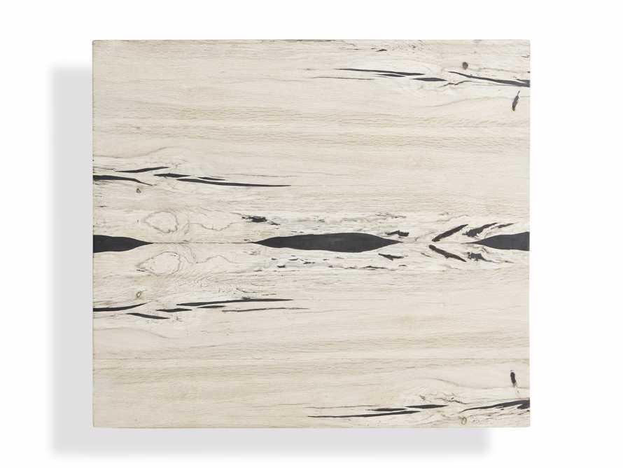 "Nika 24"" Spalted Oak Cube End Table, slide 6 of 8"