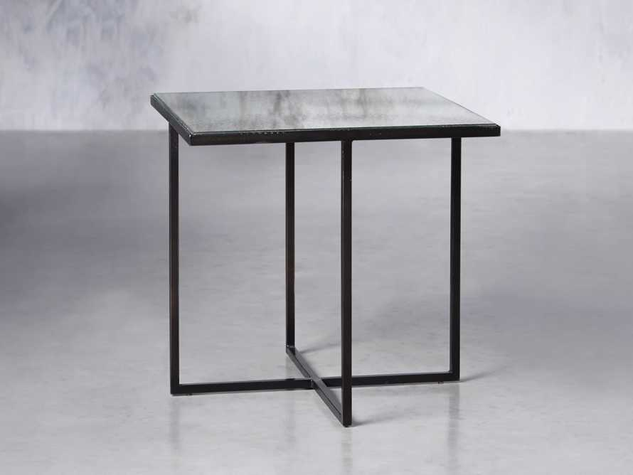 "Odette 16"" Mirrored Coffee Table"