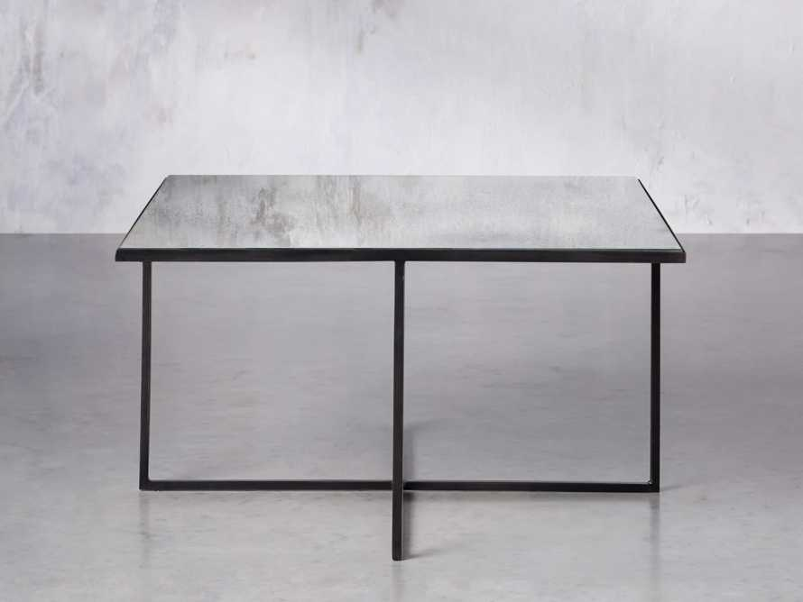 """Odette 28"""" Mirrored Coffee Table, slide 1 of 9"""