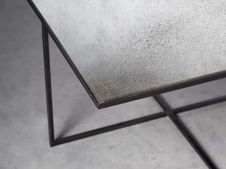 """Odette 28"""" Mirrored Coffee Table, slide 3 of 9"""