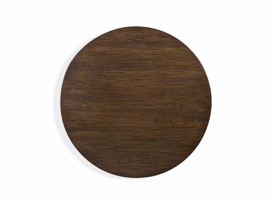 Palmer Round Nesting Coffee Table in Bali Brown, slide 5 of 8