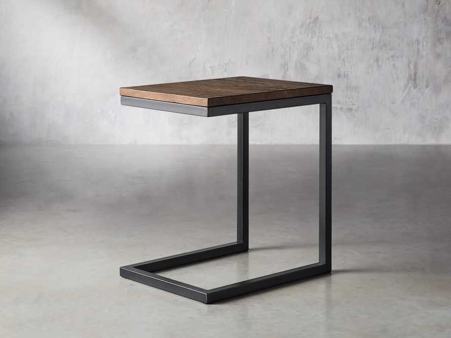 Palmer Serving End Table in Bali Brown