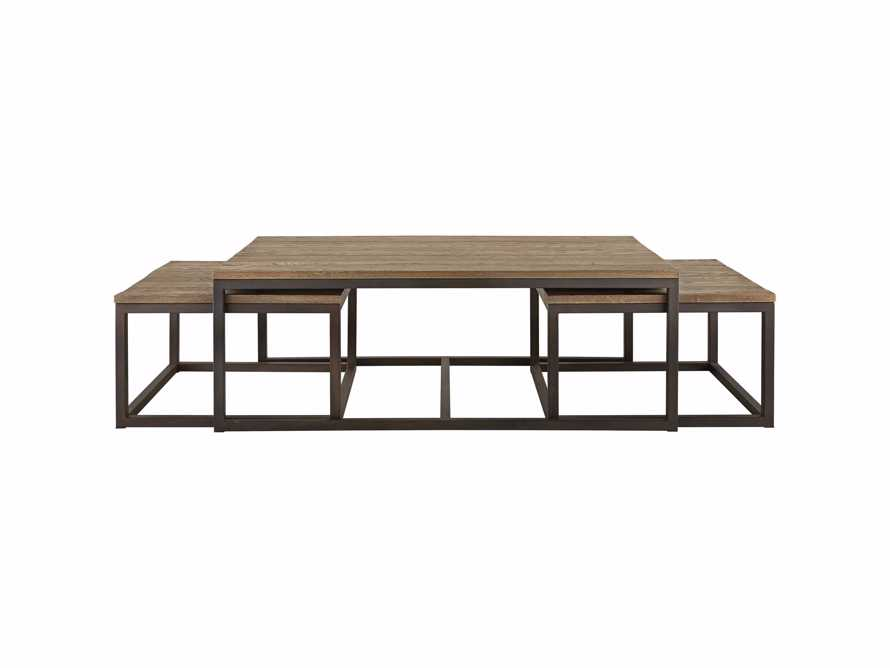 Palmer Nesting Coffee Table Set in Natural Oak, slide 7 of 7