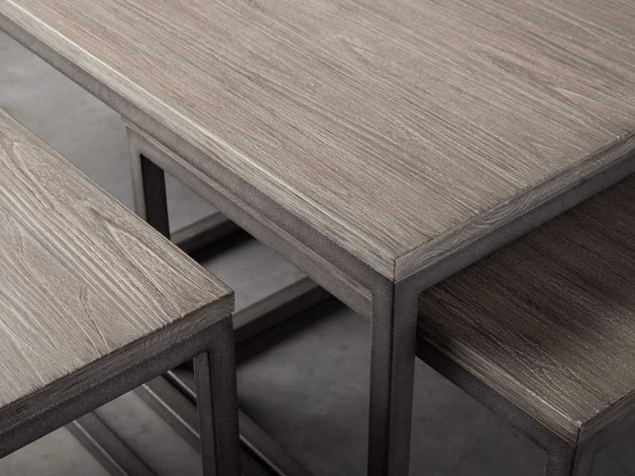 "Palmer 53"" Nesting Coffee Table Set in Grey, slide 4 of 5"