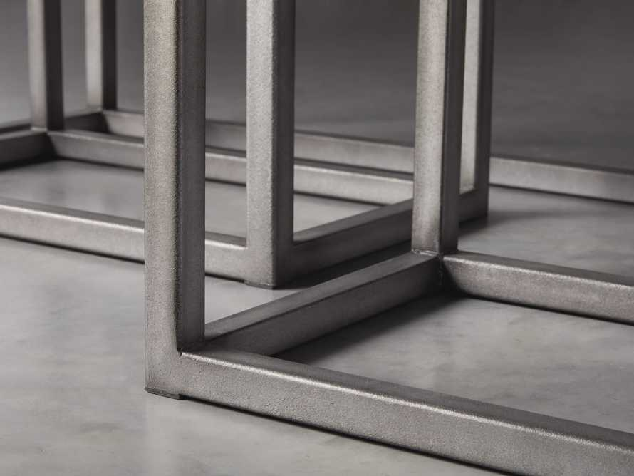 "Palmer 54"" Nesting Console Table Set in Grey, slide 4 of 5"