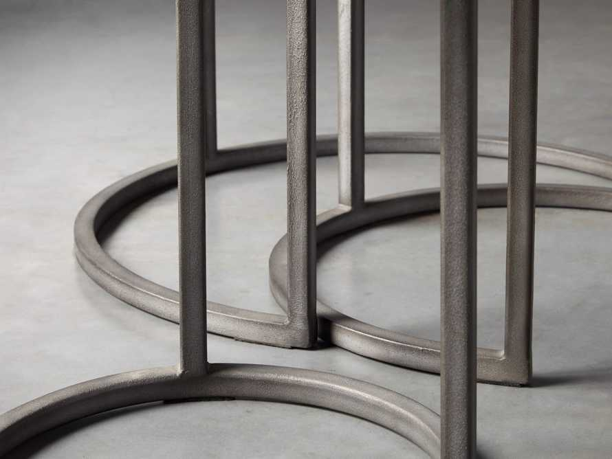 """Palmer 24"""" Round End Table in Grey"""